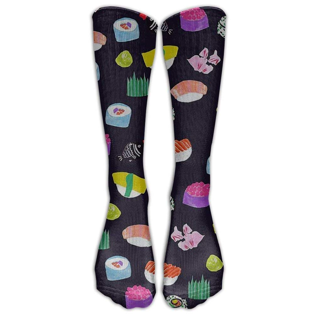 NEW Japanese Sushi Compression Socks Soccer Socks Knee High Socks For Running,Medical,Athletic,Edema,Diabetic,Varicose Veins,Travel,Pregnancy,Shin Splints,Nursing.(ccb95398) 0