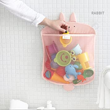 Kids Bath Toy Storagebathroom Strong Suction Cups Organiser Wall