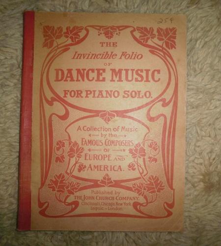 The Invincible Folio of Dance Music for Piano Solo