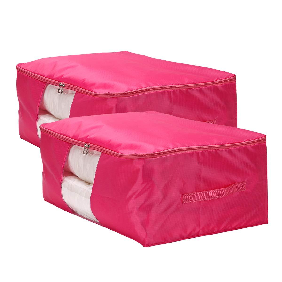 VEAMOR Comforter Storage Bags Pillow