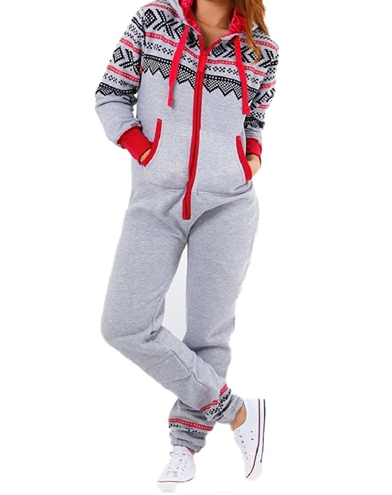 Janisramone Capretti Unisex Nuovo Azteco Stampare Zip Up Tutti in Uno Ragazze Ragazzi Vello Tutina Hooded Jumpsuit Playsuit UK