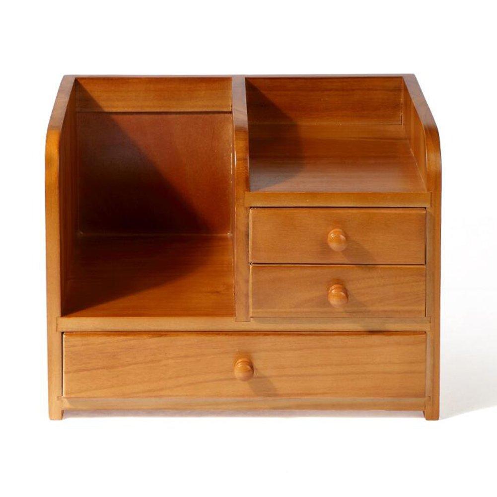 Amazon.com: CJC Storage Box Wooden Drawer Formula Desktop Storage Rack Cosmetic Jewelry Sort Out Box (Color : T2): Home & Kitchen