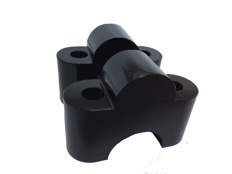 Bay4Global GY-GSR750.25S Handlebar Bar Risers for SUZUKI GSR750 Motorcycle 25mm up Black