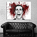 Poster Mural Movie American Psycho 35x47 inch (90x120 cm) on Canvas