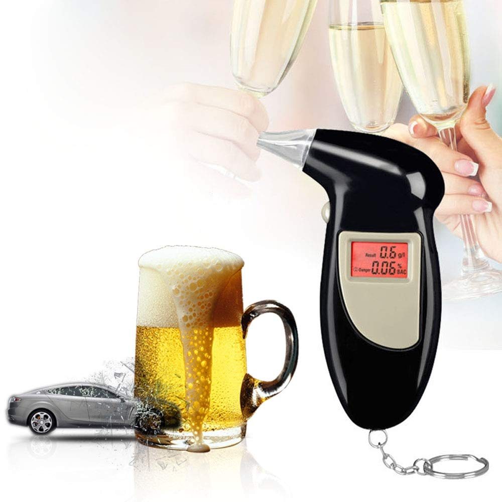 Digital Alcohol Tester Professional Alcoholimetro Alcool Bafometro Alkohol Tester for Breathalyzer Price Alcotester Alkol Tester by Oscenlife