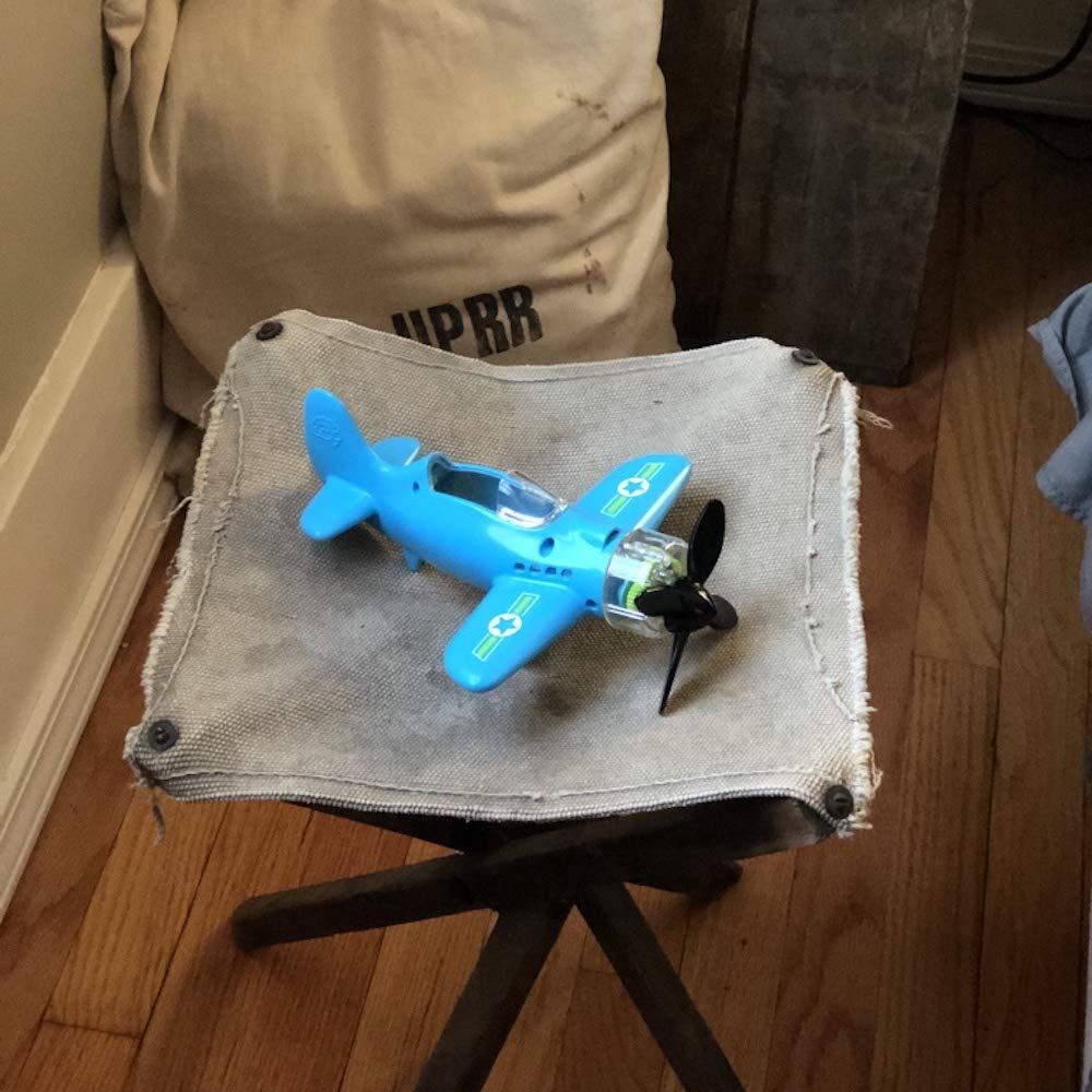 Fat Brain Toys 50132 Spielzeugflugzeug blau