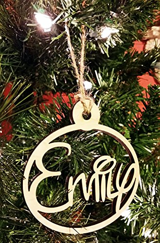 DISNEY Personalized Wooden Name Christmas Tree Ornaments Custom Made Gift Present You Choose Names