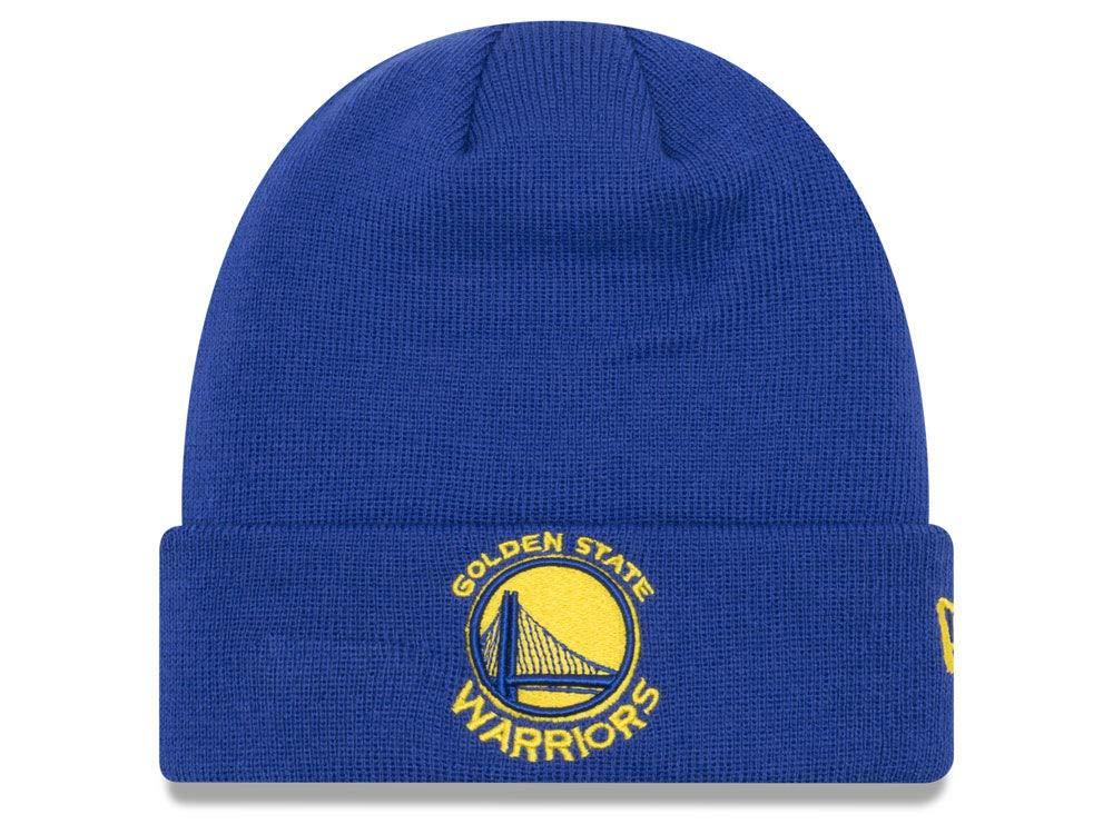 on sale f4a82 0bb67 Amazon.com   Golden State Warriors Royal Blue Cuff Breakaway Beanie Hat -  NBA SF Cuffed Knit Toque Cap   Clothing