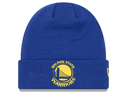 5f2a3bda94e Golden State Warriors Royal Blue Cuff Breakaway Beanie Hat - NBA SF Cuffed  Knit Toque Cap
