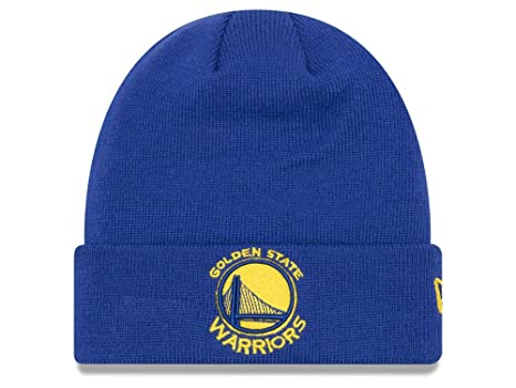 174377c877950 Golden State Warriors Royal Blue Cuff Breakaway Beanie Hat - NBA SF Cuffed  Knit Toque Cap