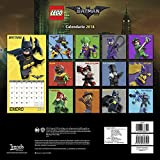 The Lego Batman Movie 2018 Wall Calendar  Mexico Wall Calendar(Spanish Edition )