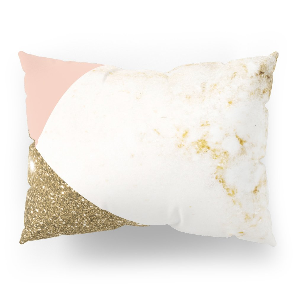 Society6 Gold Marble Collage Pillow Sham Standard (20'' x 26'') Set of 2