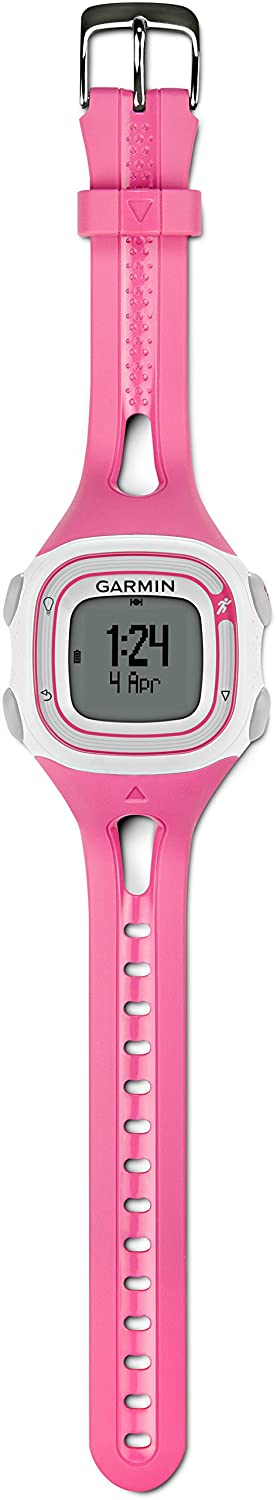 Amazon.com: Garmin 010-01039-05 Garmin Forerunner 10 White/Pink Europe Version: Cell Phones & Accessories