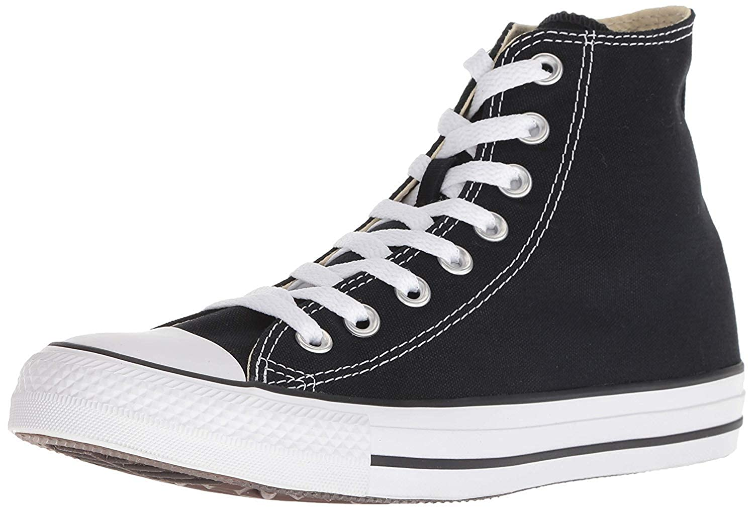 super popular c697c 8843d Amazon.com   Converse CT All Star Hi Black Canvas Mens Trainers Size 9.5 UK    Fashion Sneakers