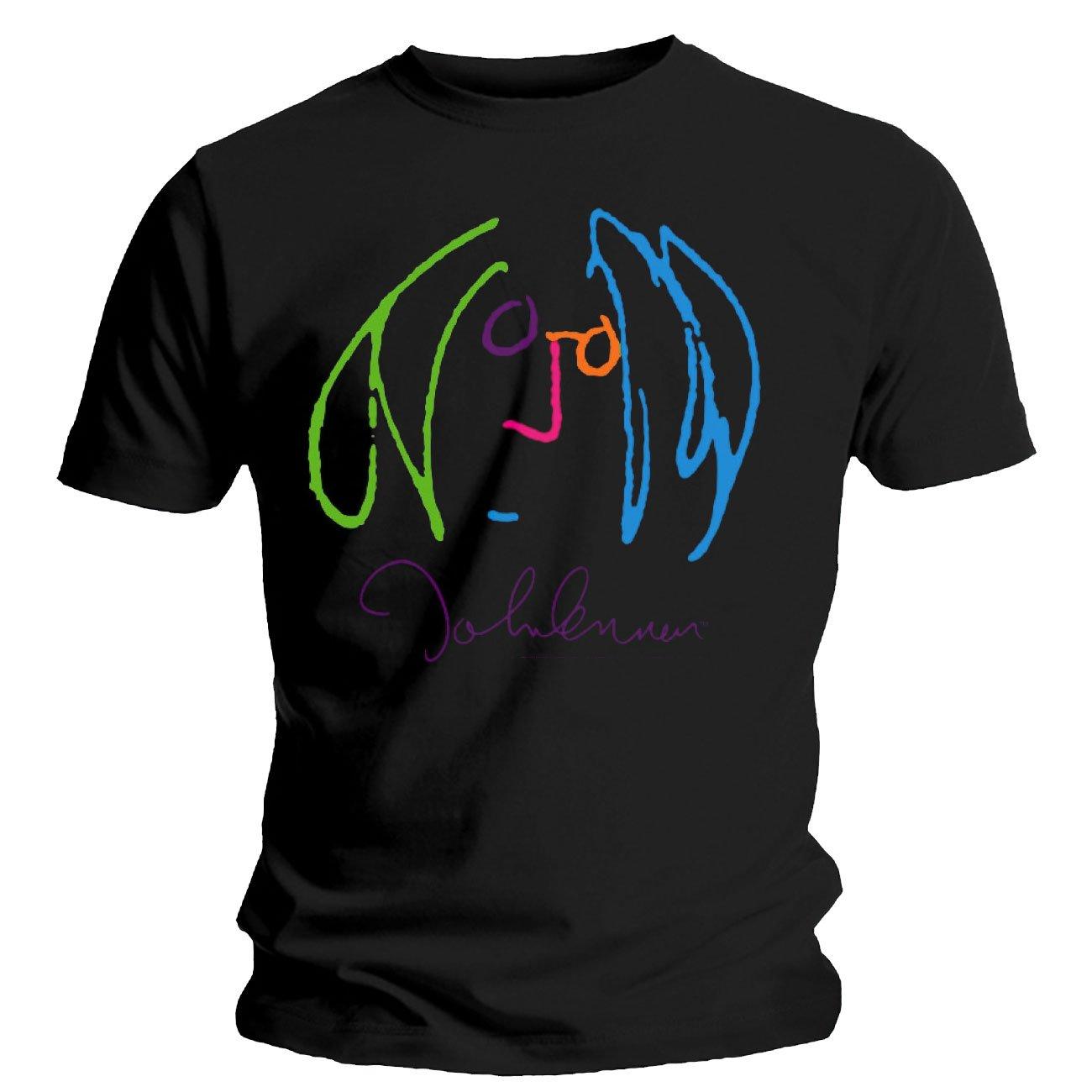 John Lennon Backlight S Tshirt Black Xx