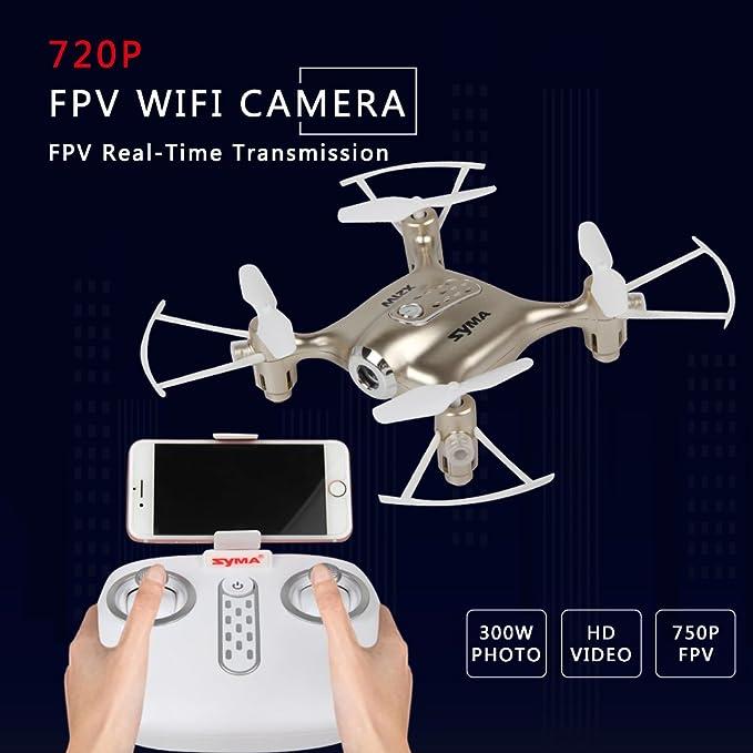 Syma X21W 2.4GHz Mini WIFI Transmisión en tiempo real Drone con ...