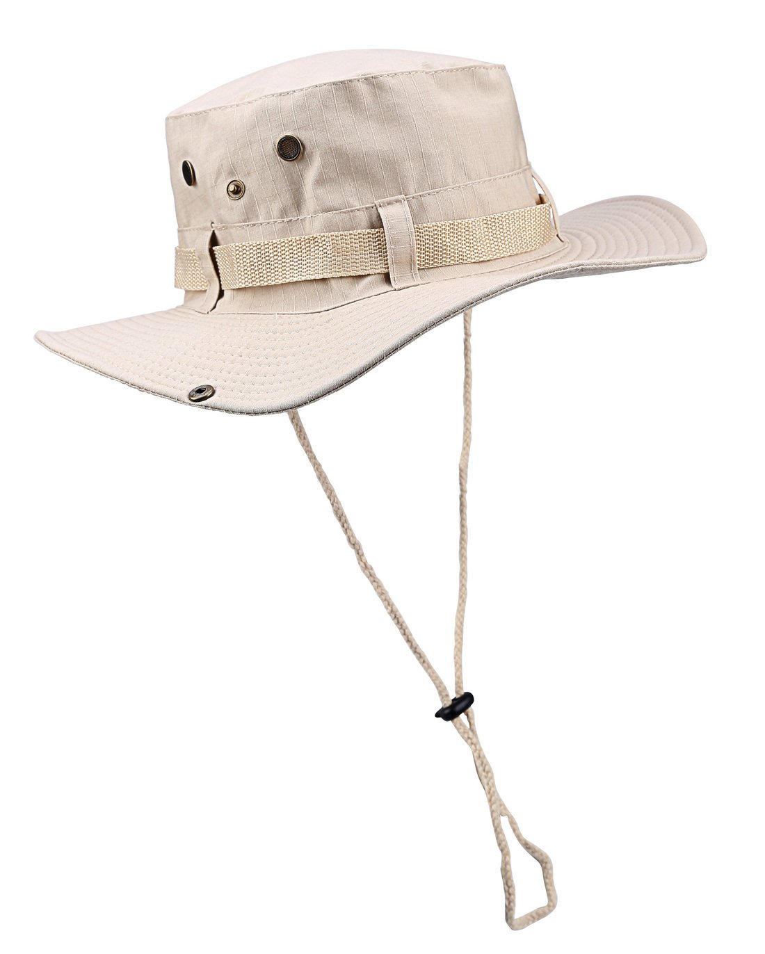 ELUTONG Wide Brimmed Hat Car Jungle Sun Fishing Beach Hat Outdoor Hunting Boonie Hat Sun Protction