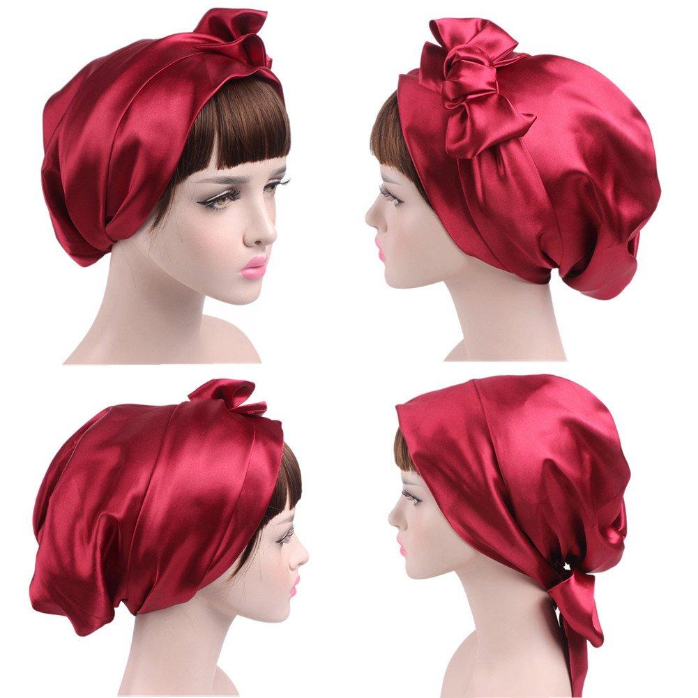 ZYCC Cancer Chemo capo sciarpa cappello cappotto panno etnico stampare cappello turbante donne increspatura beanie sciarpa musulmana testa cappello