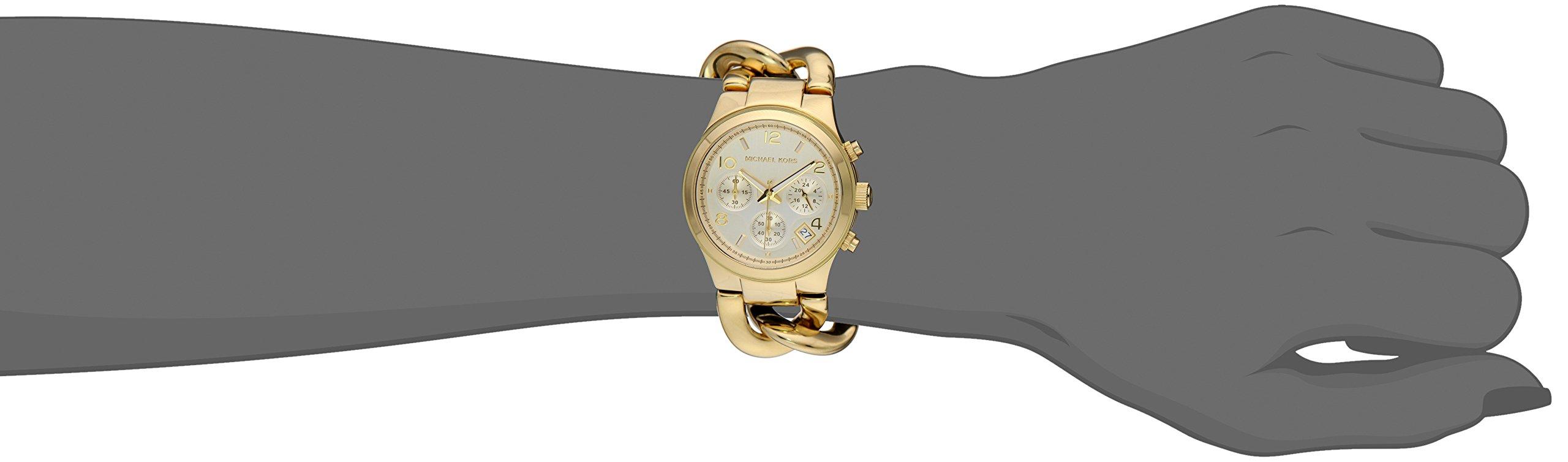 Michael Kors Women's Runway Gold-Tone Watch MK3131 by Michael Kors (Image #5)