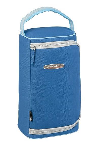 Hornillo para acampada y viaje, modelo Bivouac marca campingaz con bolsa para el transporte y 2 cartuchos a gas, de 450 gramos, cód.
