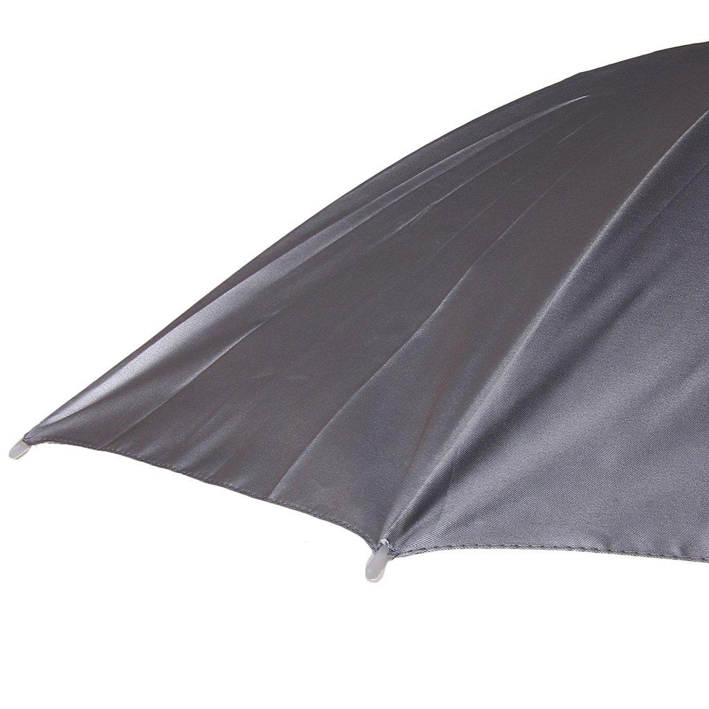 Taille unique Argent Chapeau Parapluie /à T/ête Pliable Abri de Pluie et Soleil pr Camping P/êche Randonn/ée