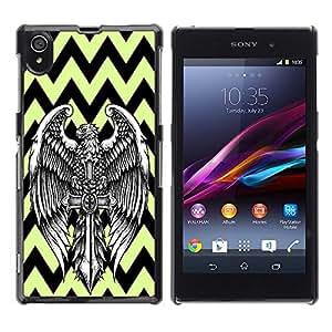 Dragon Case - FOR Sony Xperia Z1 L39 - A good beginning - Caja protectora de pl??stico duro de la cubierta Dise?¡Ào Slim Fit