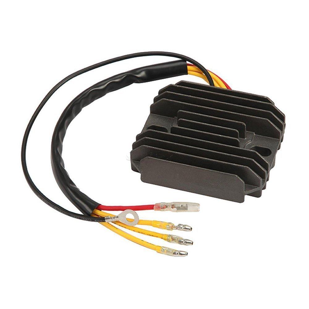 Zz Pro Voltage Regulator Rectifier for Suzuki GS250 GS400 GS425 GS450 GS550 GS750 GSX750 GS850 GS1000 GS1100 GS1100E GS1100-LT GS1100S GSX1100 LT230E 32800-49X50 32800-45210 46-3918 ZzPro
