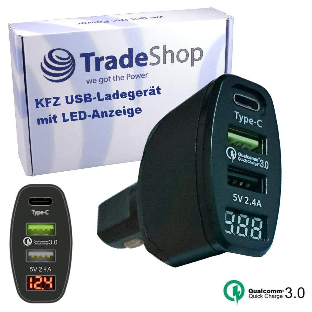 Trade-Shop - Cargador de Coche para Huawei P10 / Nova 2 / P20 Pro ...