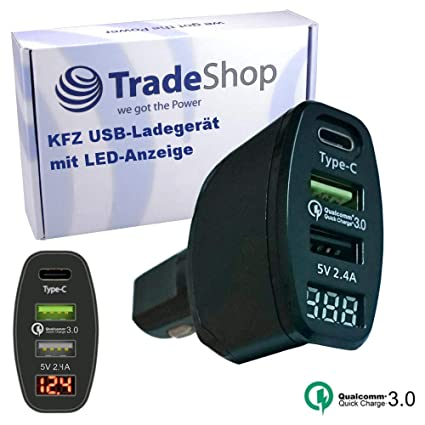 Trade-Shop - Cargador de Coche para Sony Xperia XZ1 Compact ...