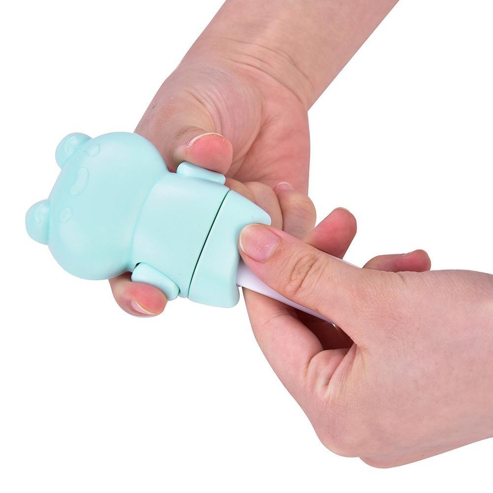 6 pcs Child Safety Locks Adjustable Adhesive Baby Safety Door Cupboard Drawer Cupboard(Green) by Yosoo- (Image #8)
