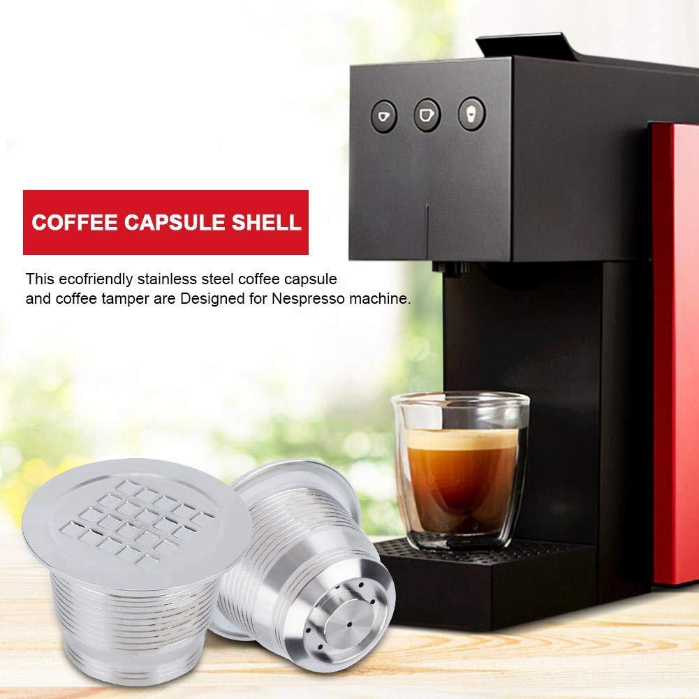 Nitrip Filtro de café reutilizable de acero inoxidable Filtro de ...