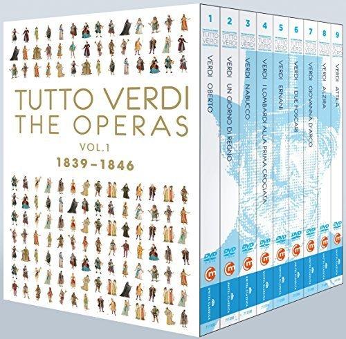 Tutto Verdi Operas, Vol. 1 (1839 - 1846) by Gazheli B01GUPAJQS