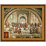 Design Toscano The School of Athens, 1510, Canvas Replica Painting: Large