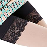 xhorizon TM SR1 Women's High Waist Elastic Boyshort Panty Short Legging Gift