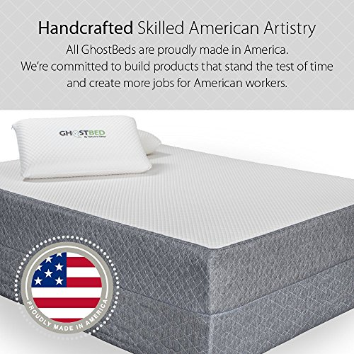 GhostBed 11-Inch Twin-XL Latex & Gel Memory Foam Luxury Mattress