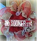 University of Oklahoma Deco Mesh Wreath