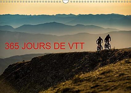 Calendrier Vtt 2021 365 jours de VTT Calendrier mural 2021 DIN A3 horizontal: Amazon