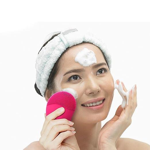 清洁做不好擦再多护肤品也没用!深度清洁神器-硅胶洗脸刷$10.99