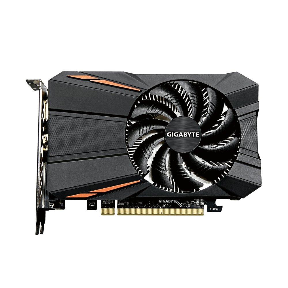 Gigabyte AMD GV-RX550D5-2GD 2 GB 128-Bit GDDR5 Memory DisplayPort//HDMI//DL-DVI-D PCI Express Graphics Card Black
