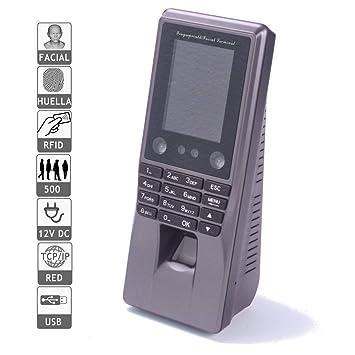 Jandei Reloj fichar Facial, biometrico Tarjeta Software Incluido ...