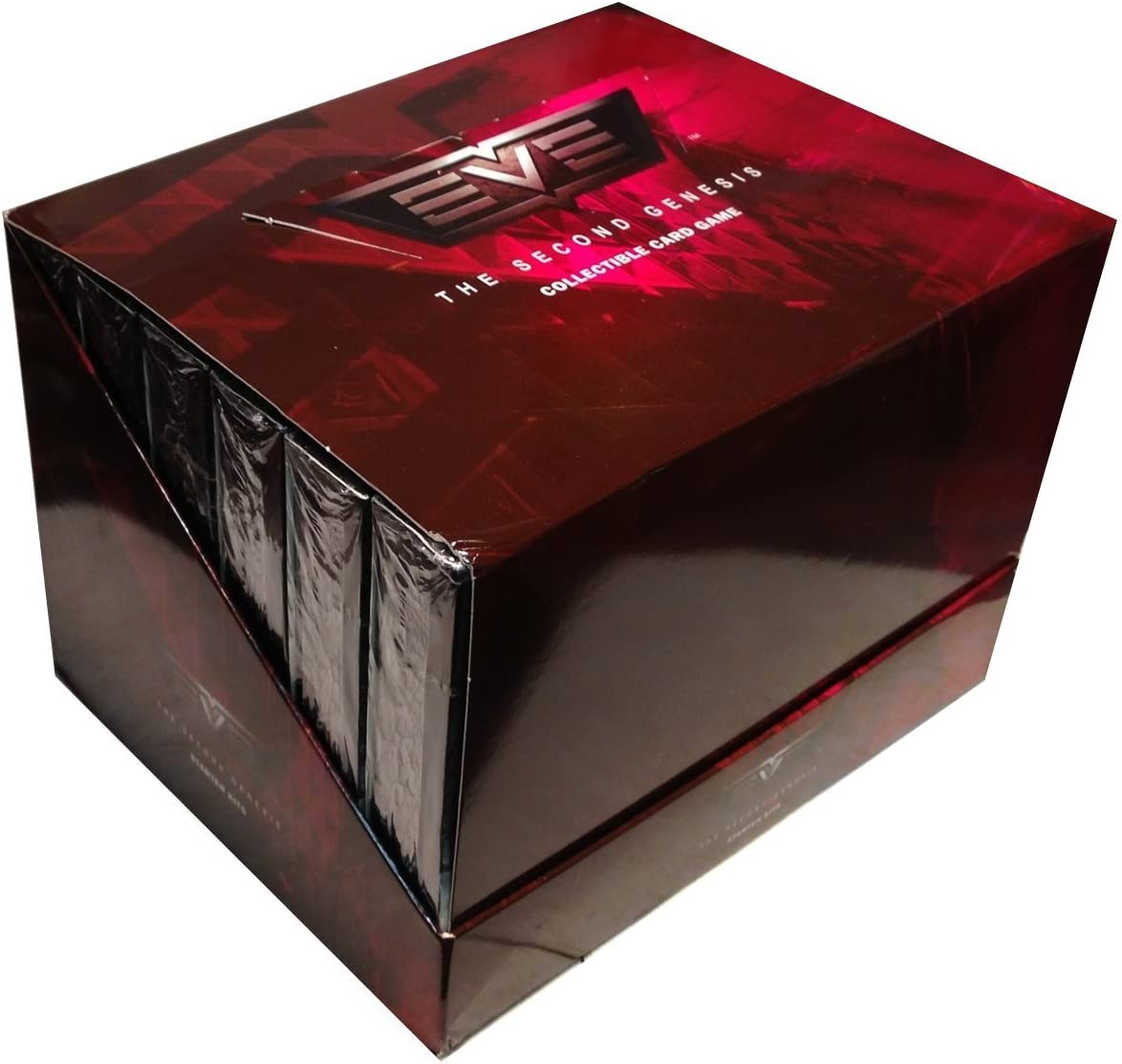 EVE the Second Genesis Starter Kit CCG Collectible Card Packs - 12 Pk Display - 6 Pks of Day of the Darkness - 6 Pks of the Great War