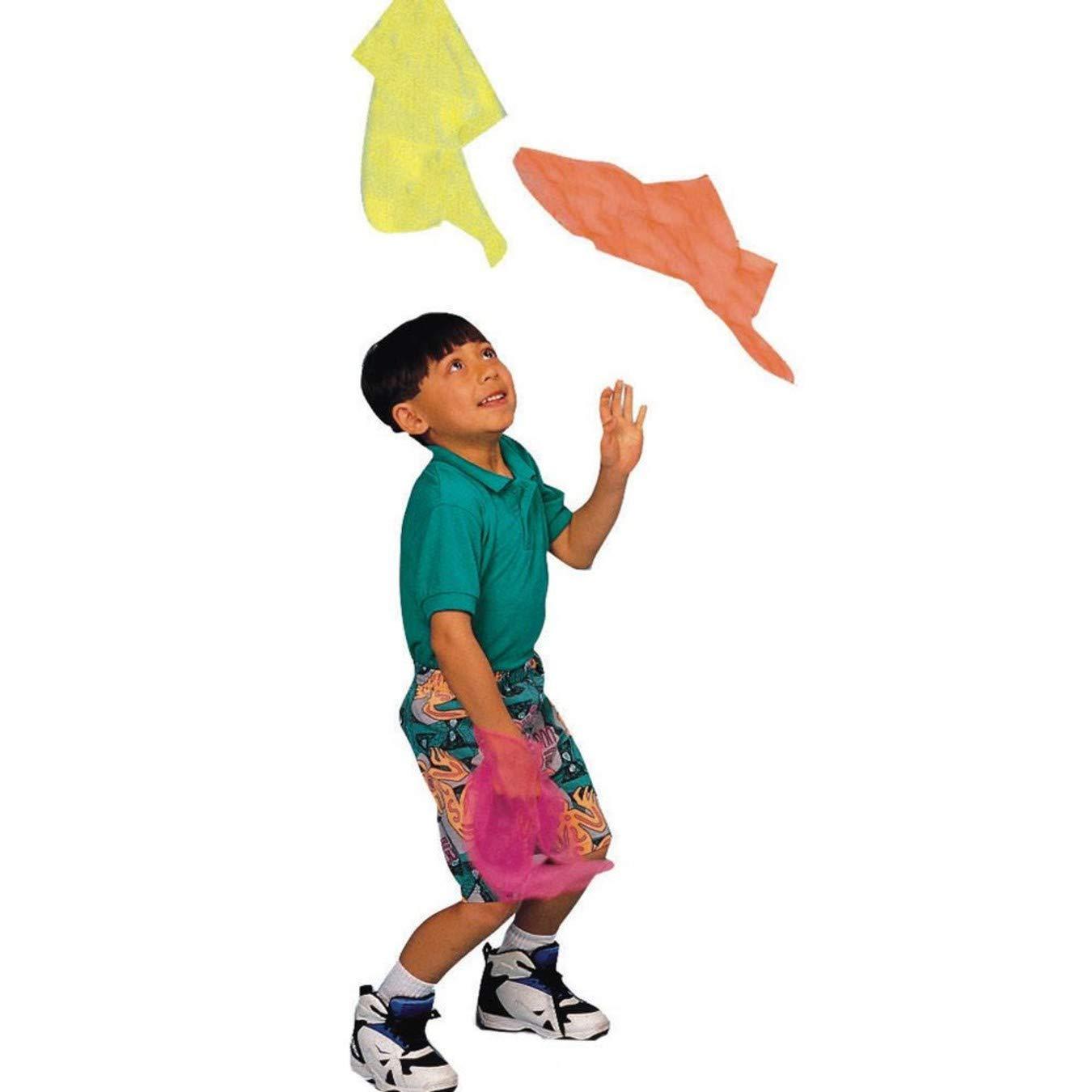 S&S Worldwide Nylon Juggling Scarves (Pack of 108)