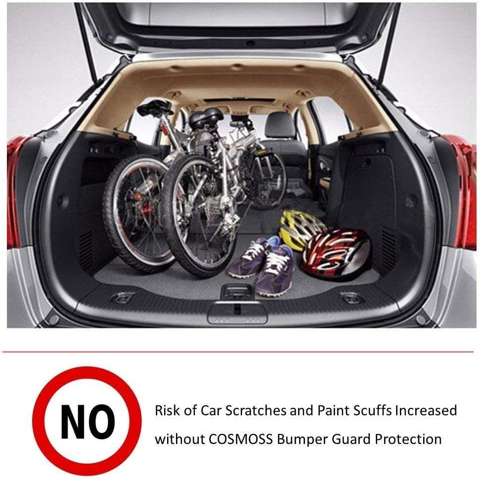 COSMOSS Bumper Protector Guard Pickup Rear Bumper Guard ...