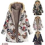 Sunmoot Winter Plus Size Women Coat Fleece Hooded