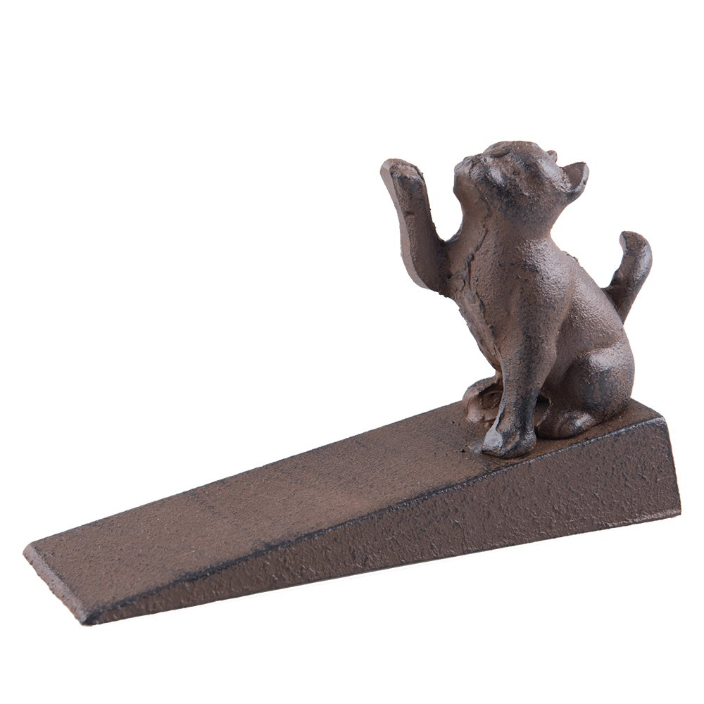 Fasmov Cat Scratching Door Stopper Decorative Door Stopper Wedge by Fasmov