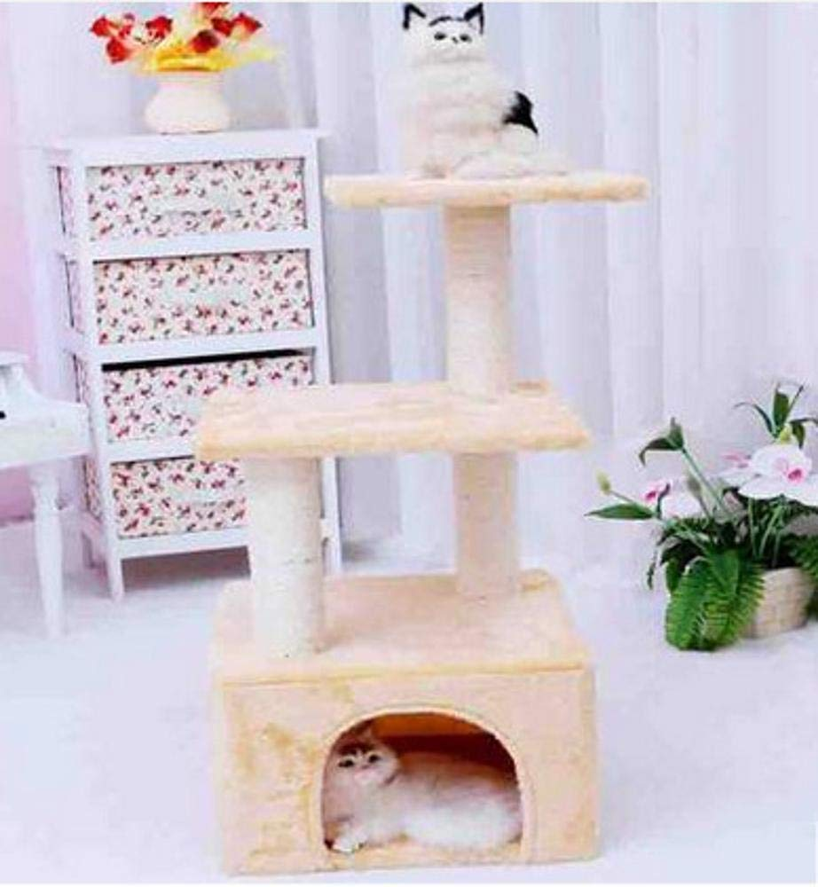 Cat Furniture Play Towers and Trees cat Trees Towers Three Layer cat Platform Rope cat Toy Cat Scratch Cat Scratch Board cat Nest 35  35  70cm