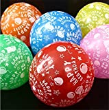 Themez Only Balloon Junction Printed Theme Birthday Party Decoration Balloons Pack Of 25