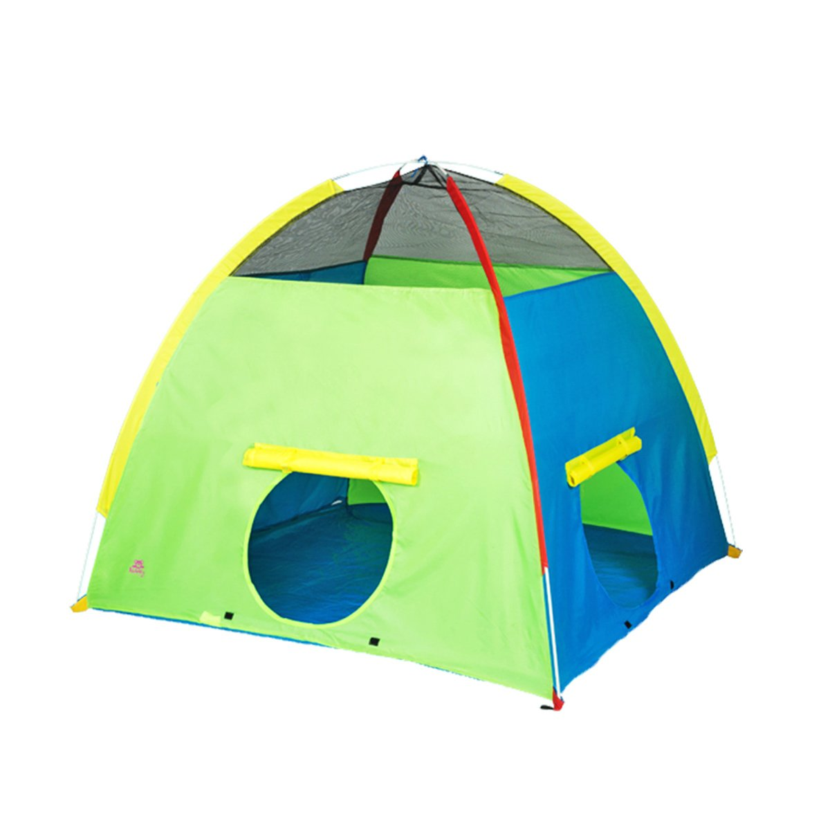LF DD Tienda de juegos para niños Indoor Game House Dome Large Space Casa de juguetes interactiva (Verde 59.1  59.1  51.2 pulgadas Embalaje de 1)