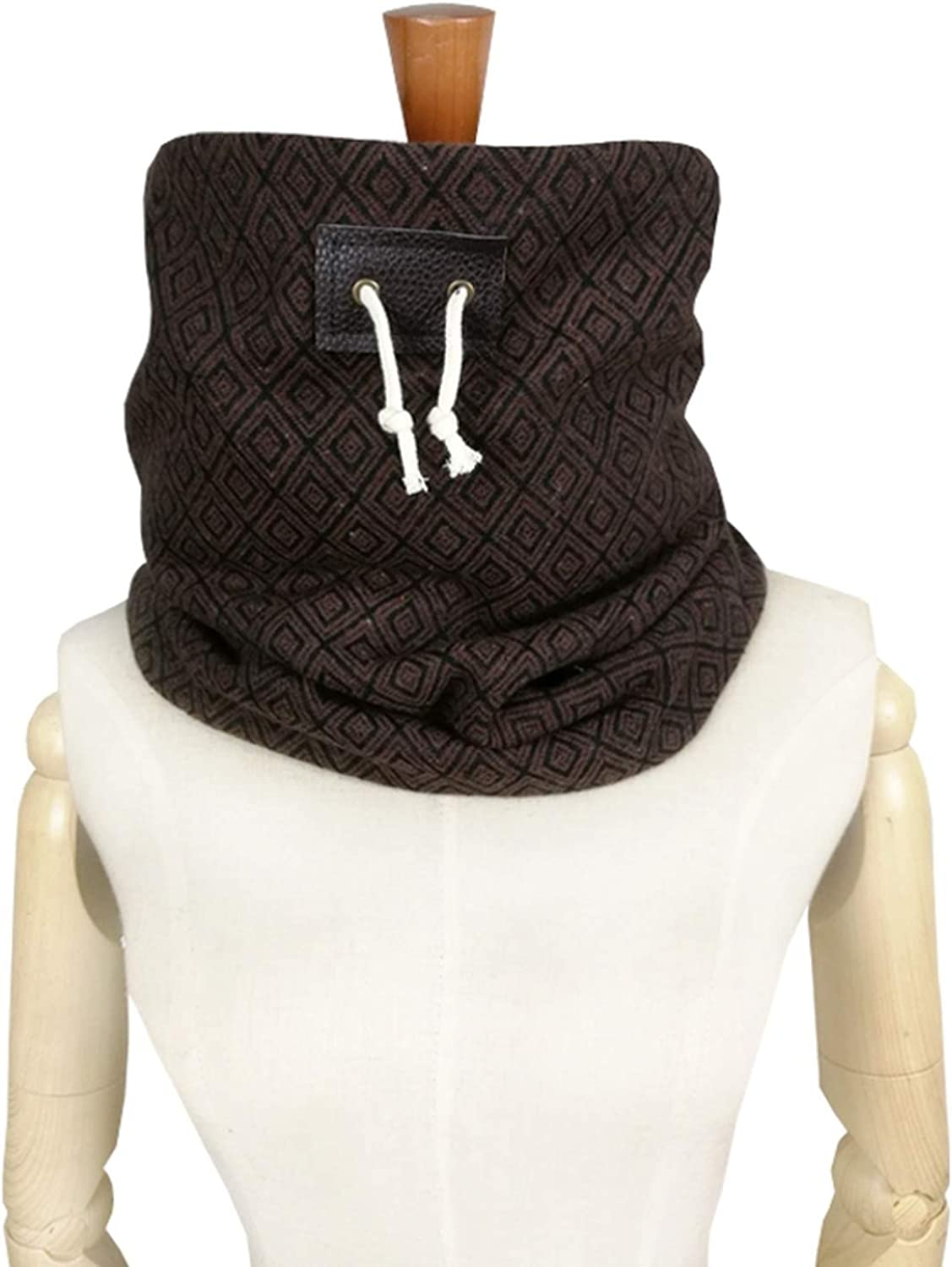 mens Winter scarf Unisex neck warmer boyfriend gift face mask Jersey Knit Scarf Infinity Scarves