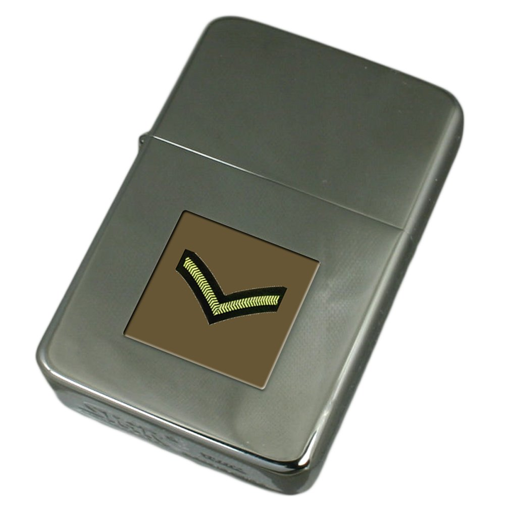 Engraved Lighter Army Insignia Rank Lance Corporal